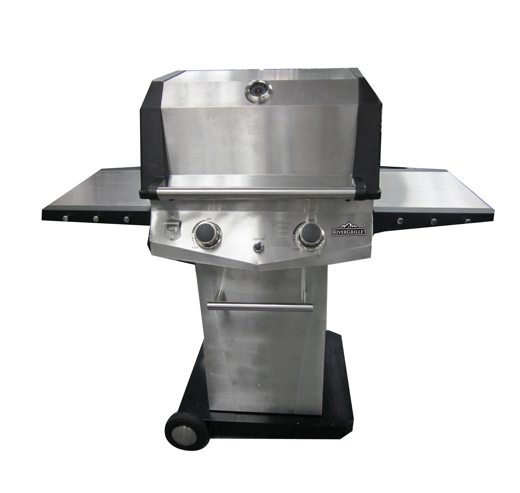 Deluxe 2 Burner Patio gas Grill