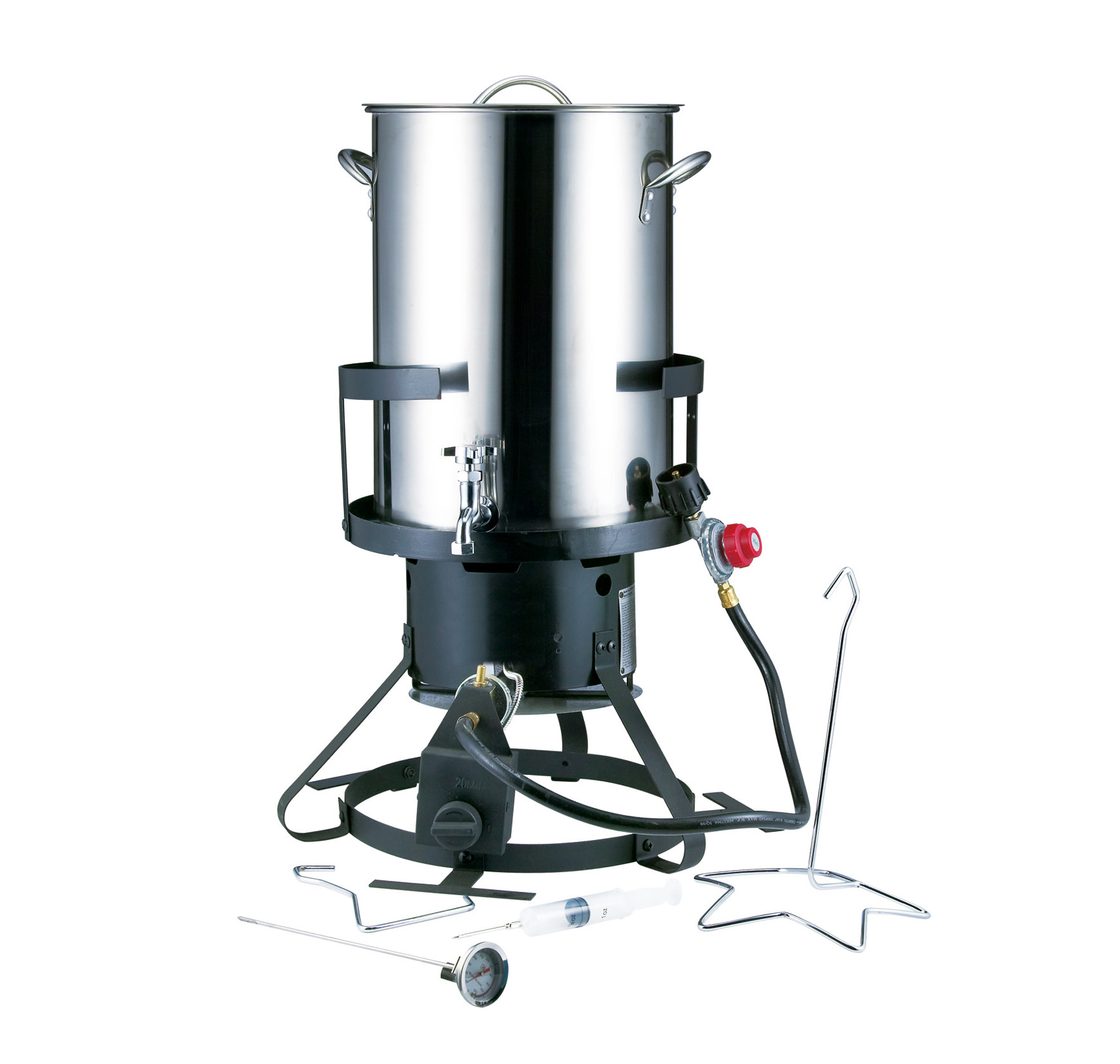 30 QT. Stainless Steel  Turkey Fryer