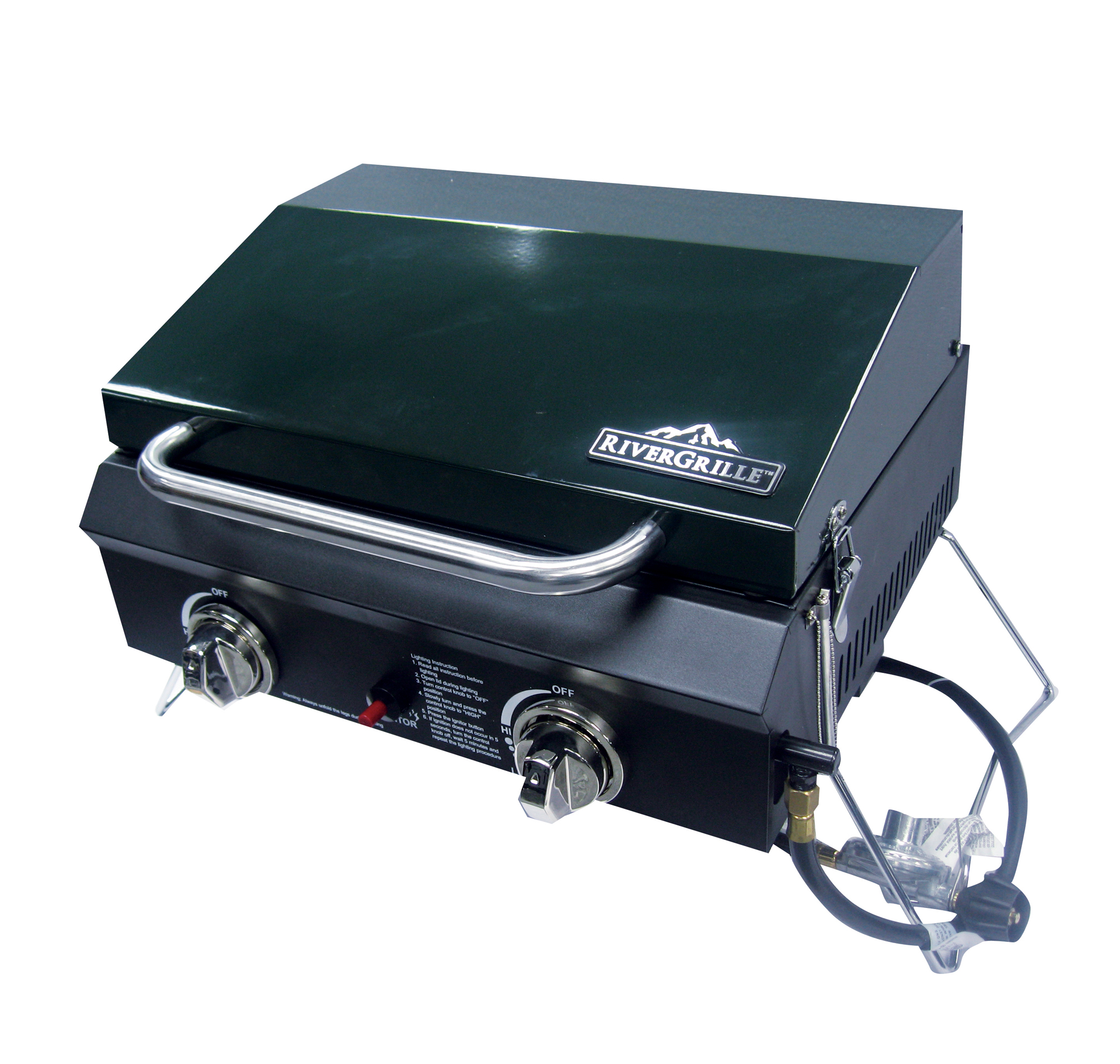 2 Burner Tabletop Gas Grill